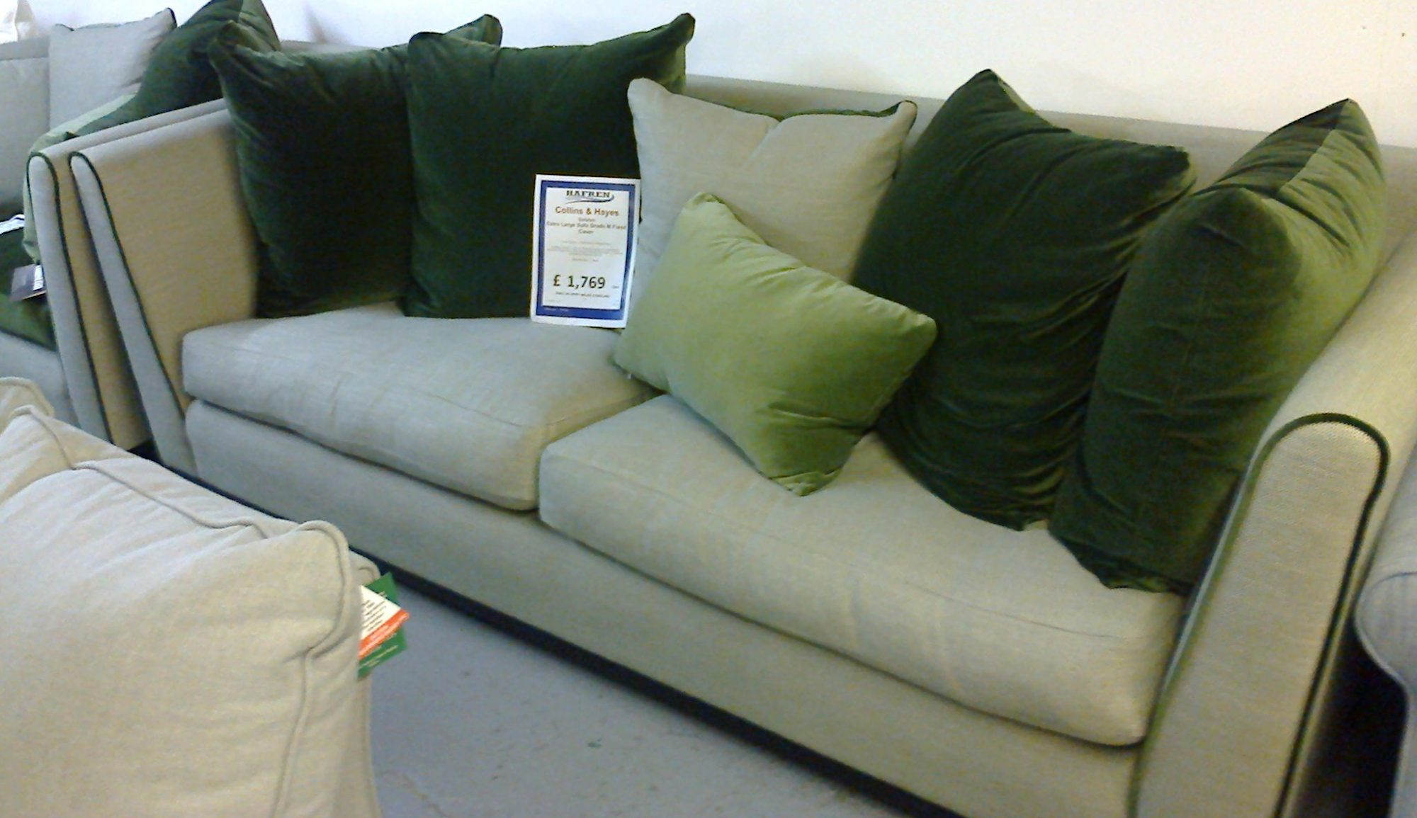 Collins Hayes Dalston Extra Large Sofa