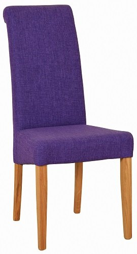 Devonshire Living New Oak Fabric Dining Chair Dining Chairs