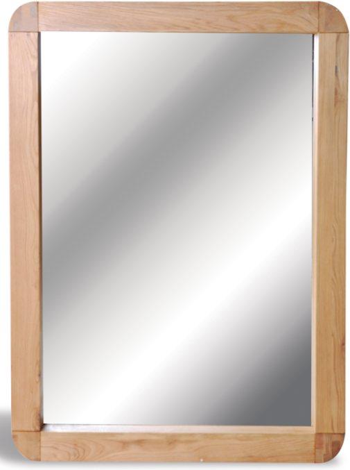 bluebone lounge oak mirror 90 x 120 - mirrors