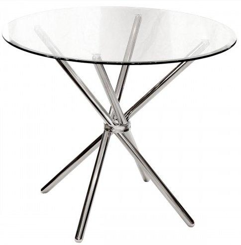 Febland Chrome Criss Cross Dining Table Dining Tables Hafren