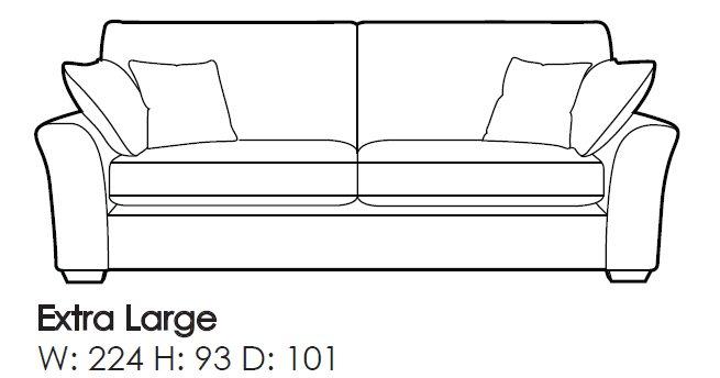 Sensational Westbridge Cole Extra Large Sofa Download Free Architecture Designs Grimeyleaguecom