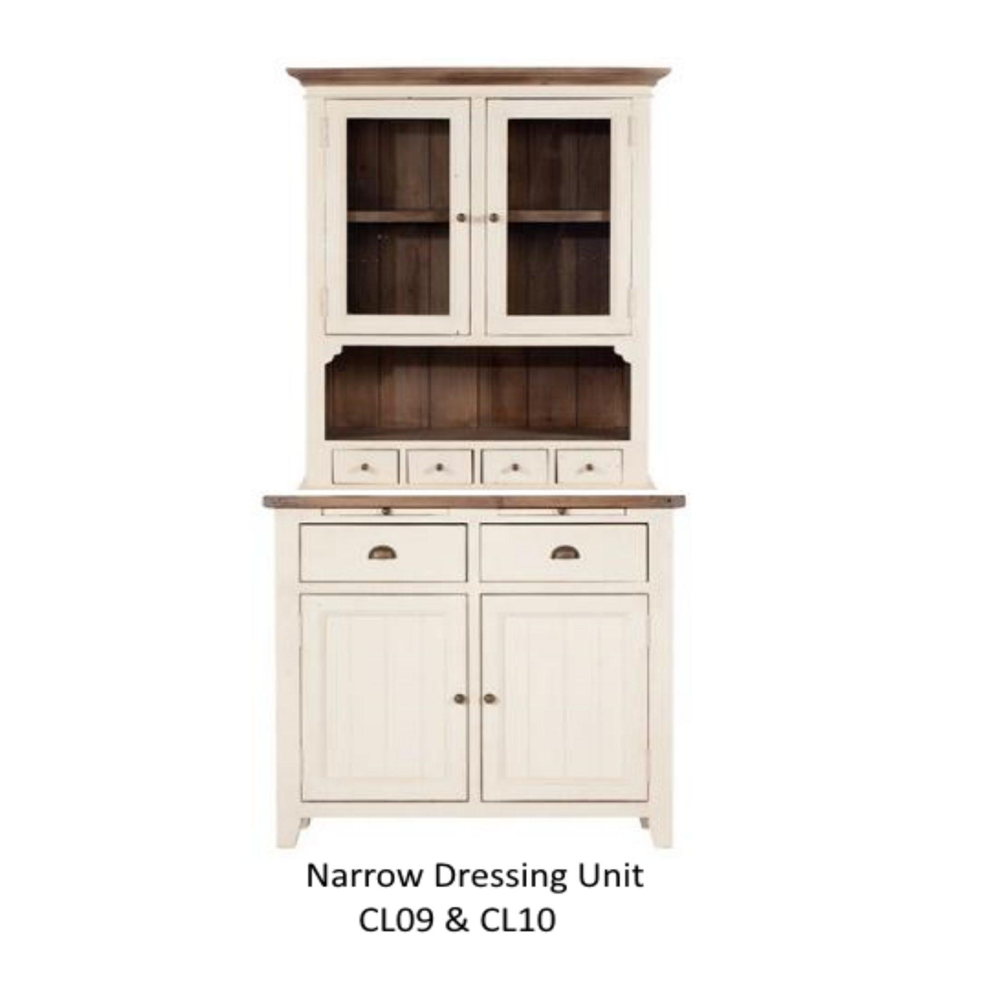 Baker Furniture Cotswold Narrow Dresser Unit Sideboards Hafren