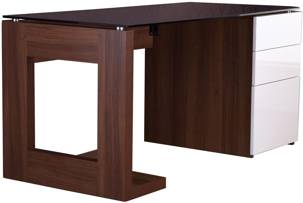 alphason desks sorbonne walnut effect executive computer desk rh hafrenfurnishers co uk executive computer desk plans barton executive computer desk chair