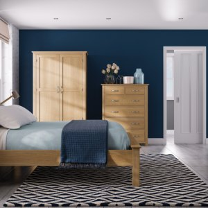 Devonshire New Oak Bedroom