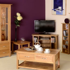 Devonshire New Oak Living