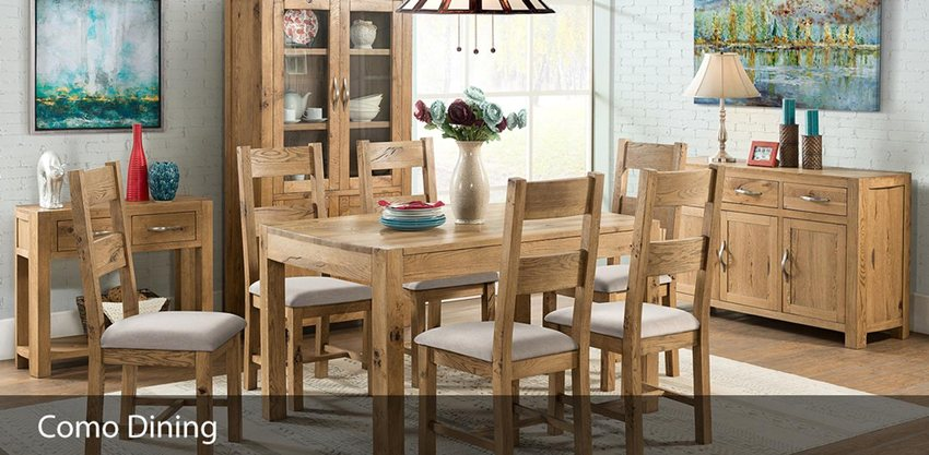 Devonshire Como Oak: Dining: