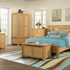 Devonshire Living: Siena Oak Bedroom