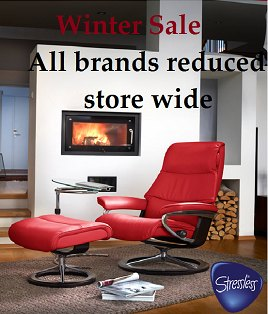Winter Sale at Hafren Furnishers across all furniture brands