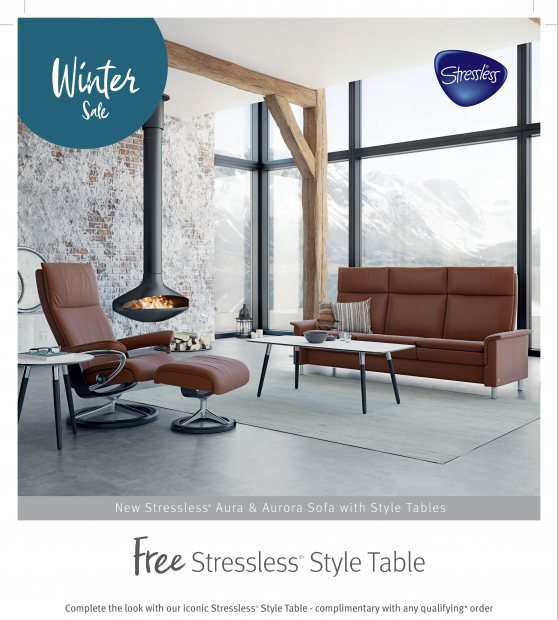FREE style table with qualifying Stressless orders*