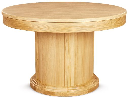 Clemence Richard Soo Round, Round Pedestal Extending Dining Table