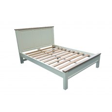 "Real Wood Rio Painted 4ft 6"" Double Bed Frame"