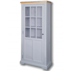 Real Wood Rio Painted Medium Display Cabinet
