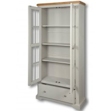 Real Wood Rio Painted Large Bookcase