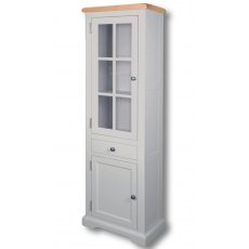 Real Wood Rio Painted Small Display Cabinet