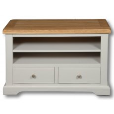Real Wood Rio Painted 2 Drawer TV Unit
