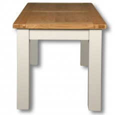Real Wood Rio Painted Extending Rectangular Table