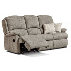 Sherborne Upholstery Virginia Manual 3 Seater Reclining Sofa