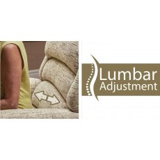 Sherborne Upholstery  Accessories Lumbar Adjust