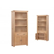 Annaghmore Treviso Oak High Bookcase