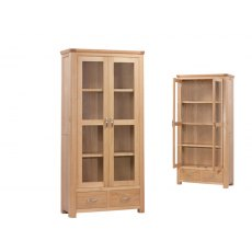 Annaghmore Treviso Oak Display Cabinet