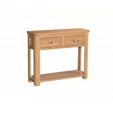 Annaghmore Treviso Solid Oak Large Console Table