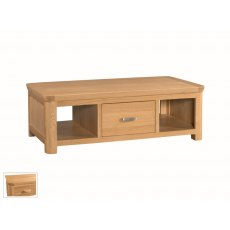 Annaghmore Treviso Solid Oak Large Coffee Table
