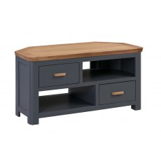 Annaghmore Treviso Midnight Blue Corner TV Unit
