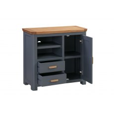 Annaghmore Treviso Midnight Blue Media Unit Sideboard