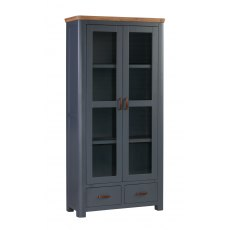 Annaghmore Treviso Midnight Blue Display Cabinet