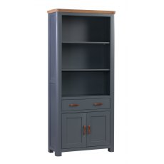 Annaghmore Treviso Midnight Blue High Bookcase