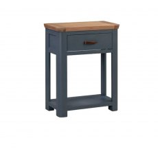 Annaghmore Treviso Midnight Blue Small Console Table