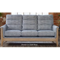 Cintique Lydia 3 Seater Settee Fabric