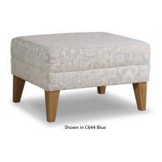 Cintique Lydia Footstool Fabric