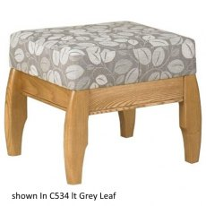 Cintique Richmond Stool Fabric