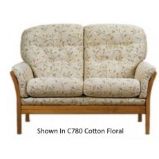 Cintique Vermont 2 Seater Settee Fabric