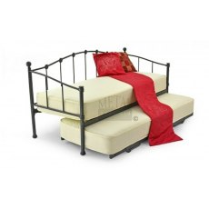 Metal Beds Paris Day Bed including Underbed