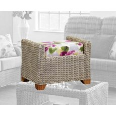 The Cane Industries Martello Footstool