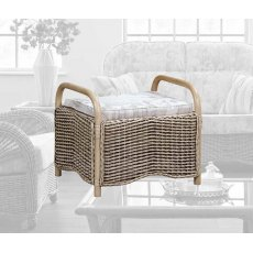 The Cane Industries Westbury Footstool