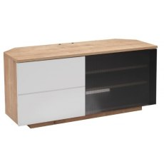 UK-CF New City Tokyo Gloss Black TV & Media Unit