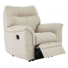 Parker Knoll Hudson Manual Recliner With Lever Latch