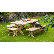 Alexander Rose Pine Farmers Table 1.9m x 1.0m
