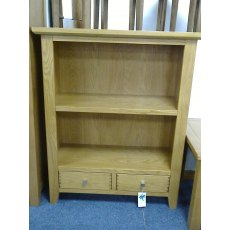 Morris Furniture Polo Low Bookcase Oak