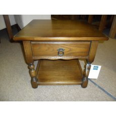 Andrena Traditional Lamp Table and Drawer