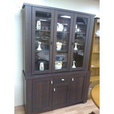 Caxton Cambridge 3 Door Glazed Display Cabinet