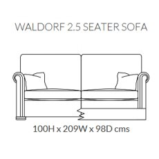 Duresta Waldorf 2.5 Seater Sofa