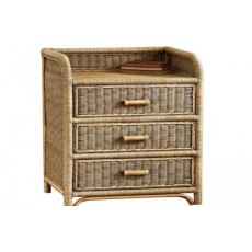 The Cane Industries Accessories 3 Drawer Chest