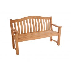 Alexander Rose Mahogany Turnberry Bench 5Ft