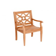 Alexander Rose Mahogany Heritage Armchair