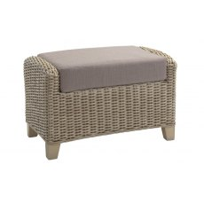 Desser Arlington Footstool & Cushion