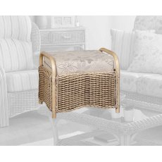 The Cane Industries Girona Footstool